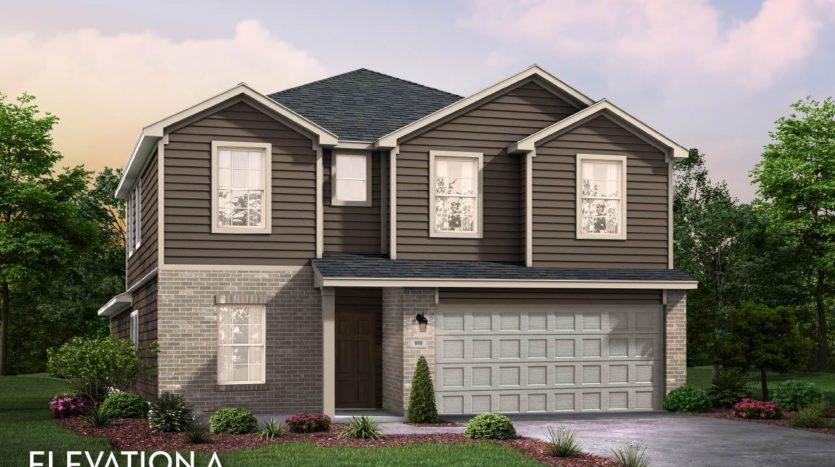 CastleRock Communities Travis Ranch subdivision 2020 Bronte Drive Forney TX 75126