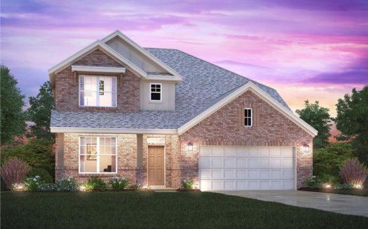 M/I Homes Bluewood subdivision 914 Indigo Lane Celina TX 75009