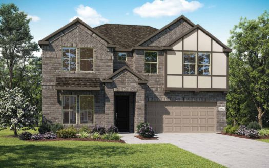Tri Pointe Homes Gateway Parks subdivision 1880 Big Spring Drive Forney TX 75126