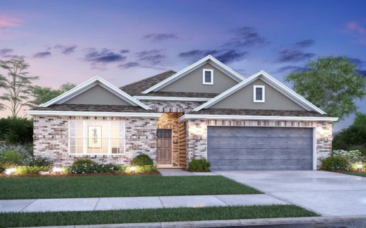 M/I Homes Forest Brook subdivision 1311 Rosler Street Mansfield TX 76063