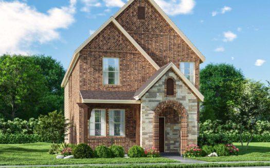 Meritage Homes Ranch Park Village - Cottage Series subdivision 4110 Saddlehorn Way Sachse TX 75048